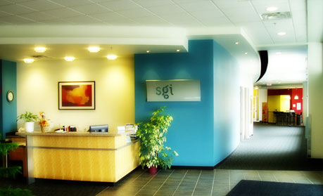 SGI Office - Entry Lobby Hallway